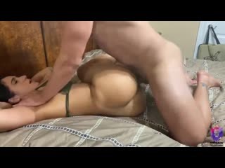 Latin milf loves anal plug sex (amateur, big ass, blowjob, cumshot, porn, milf,