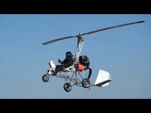 Gyroplane Barsik 2018 flying Автожир Барсик 2018 полеты