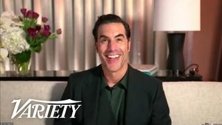 Sacha Baron Cohen Tells Golden Globes He Made 'Borat' Because of Donald Trump's Racism