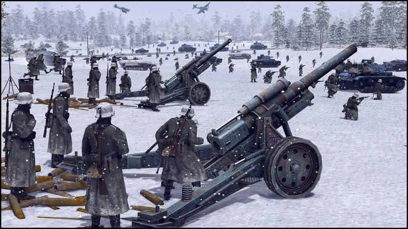 GERMAN ALL OUT ASSAULT EASTERN FRONT 41