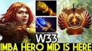 W33 Windranger Imba Hero Mid is Here Arcana Power Dota 2