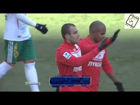 Y Movsisyan's hat trick FC Spartak vs FC Terek