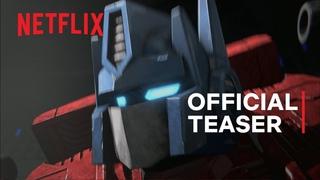 Transformers: War for Cybertron Trilogy - Earthrise | Teaser Trailer | Netflix