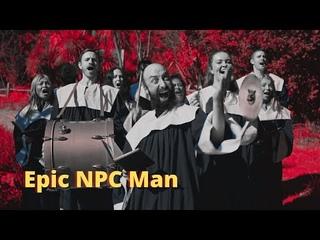 Странное музыкальное сопровождение в Ведьмаке - Epic npc man на русском