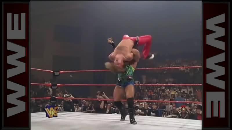 WWE RAW 12 05 1997 Rob Van Dam vs Jeff Hardy