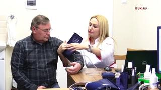 В Железнодорожной больнице пациентам рассказали возраст их сосудов