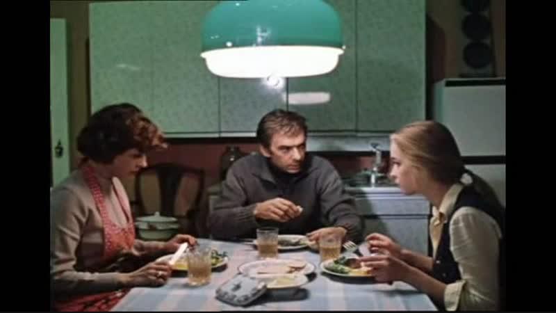 Мужчина глава семьи Из к ф Москва слезам не верит 1979