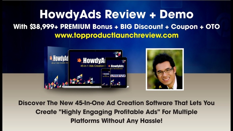Howdy Ads Reviews Howdy Ads Demo Howdy Ads Bonuses