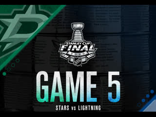 Stanley Cup Final 2020 Game 5 Dallas Stars-Tampa Bay Lightning