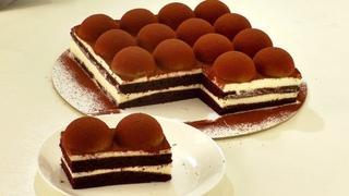 () ШОКОЛАДНЫЙ ТОРТ С ДЕКОРОМ ИЗ ЖЕЛЕ КАПУЧИНО Как необычно и просто украсить торт.