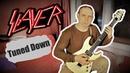 5 Slayer Riffs Tuned Down C standard