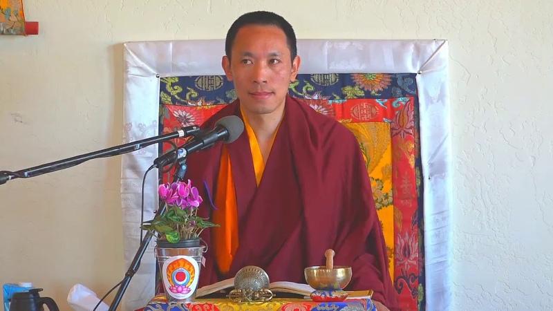 Gampopa's A Precious Garland of the Supreme Path with Khenpo Tenzin 4 3 2020 part 1