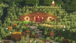 【Minecraft】 Hobbit Hole Tutorial