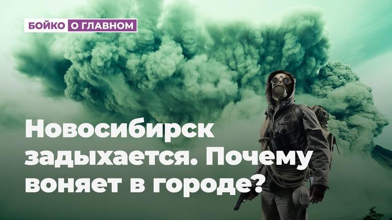 Новосибирск задыхается Почему воняет в городе