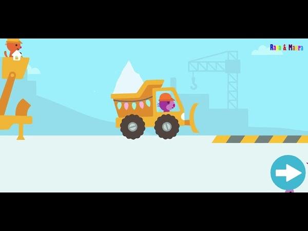 Holiday Trucks and Diggers Permainan Anak Laki Laki Permainan Alat Berat