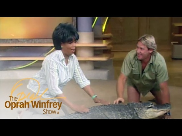 Oprah's Very Close Encounter with Bubba the Alligator The Oprah Winfrey Show OWN