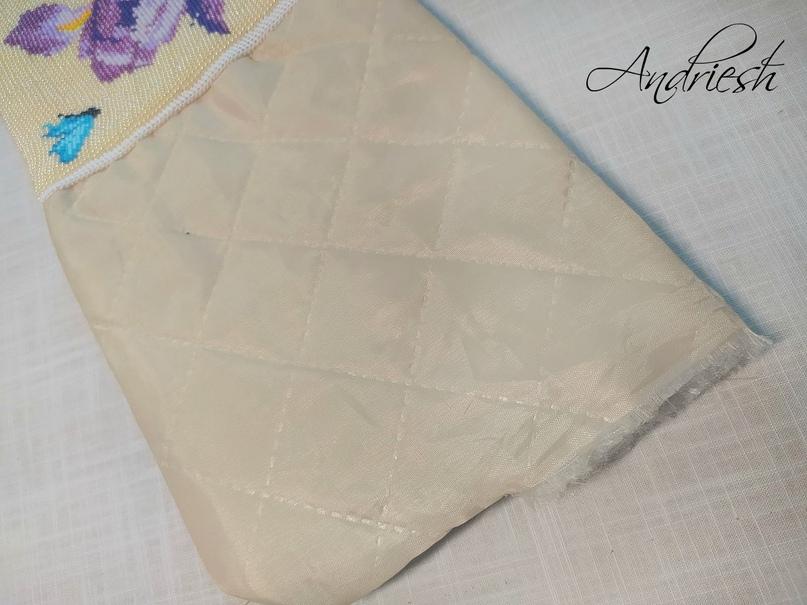 Как я сшиваю донышко и вшиваю в сумки подклад и фермуар., изображение №20