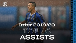 TOP 10 ASSISTS | INTER SEASON REVIEW 2019/20 👌🏻⚫🔵