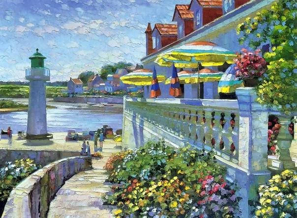 Американский художник Говард Беренс родился 20 августа 1933 года в Чикаго (штат Иллинойс
