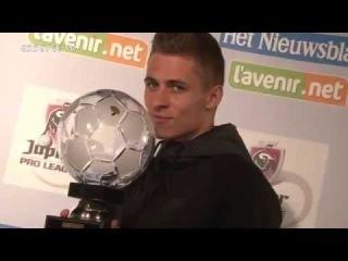 Thorgan Hazard profvoetballer 2014