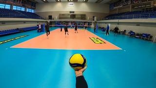Волейбол от первого лица | VOLLEYBALL FIRST PERSON | ZENIT ST. PETERSBURG | OPPOSITE | 54 episode