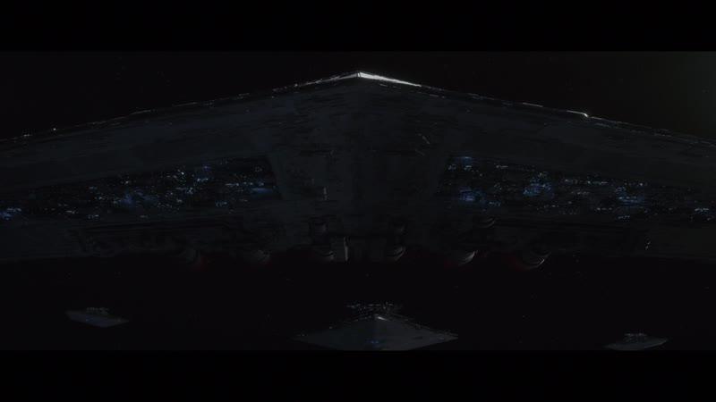 Звёздные войны 8 Последние джедаи 2017 Флот Первого Ордена догоняет корабли Сопротивления
