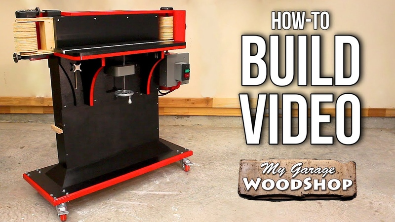Horizontal Edge Spindle Sander HOW TO BUILD video