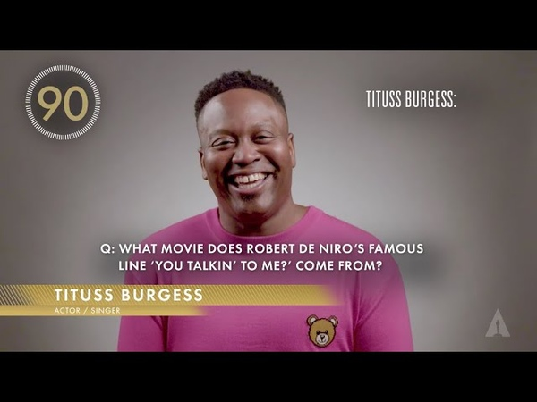 90 Seconds Oscars Trivia with the cast of RESPECT Marlon Wayans Tituss Burgess Marc Maron more