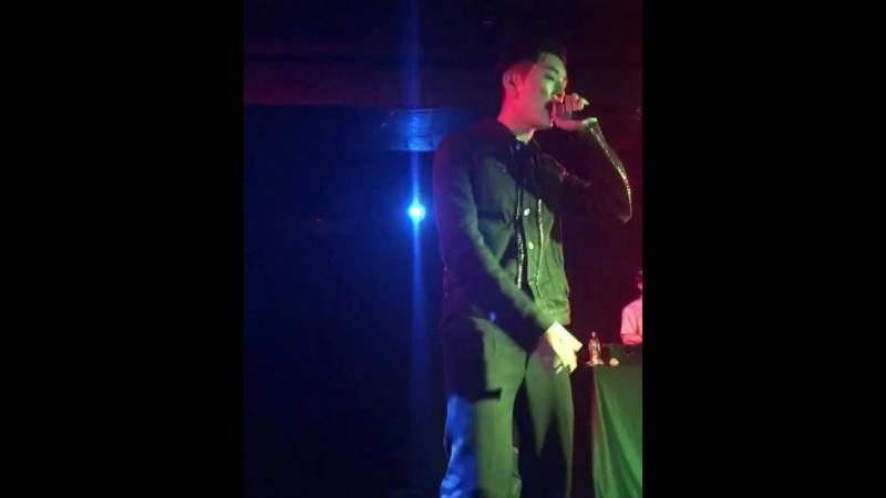Fancam cuts 180416 Rockbottom Kidoh 2018 Live in Europe in London cr @pivyq ig
