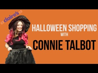 Halloween Shopping with Connie Talbot at Claire's Accessories