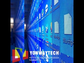 Indoor tailored led display  customized for commercial advertising led screen sign yonwaytech