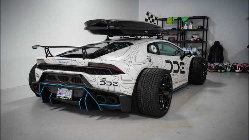 F1 Style Supercharged Lamborghini Huracan w/ VF Exhaust
