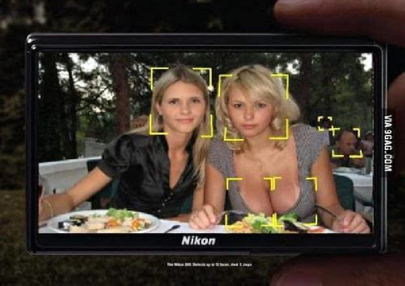 Страшно представить что будет, когда камеры станут еще умнее!)