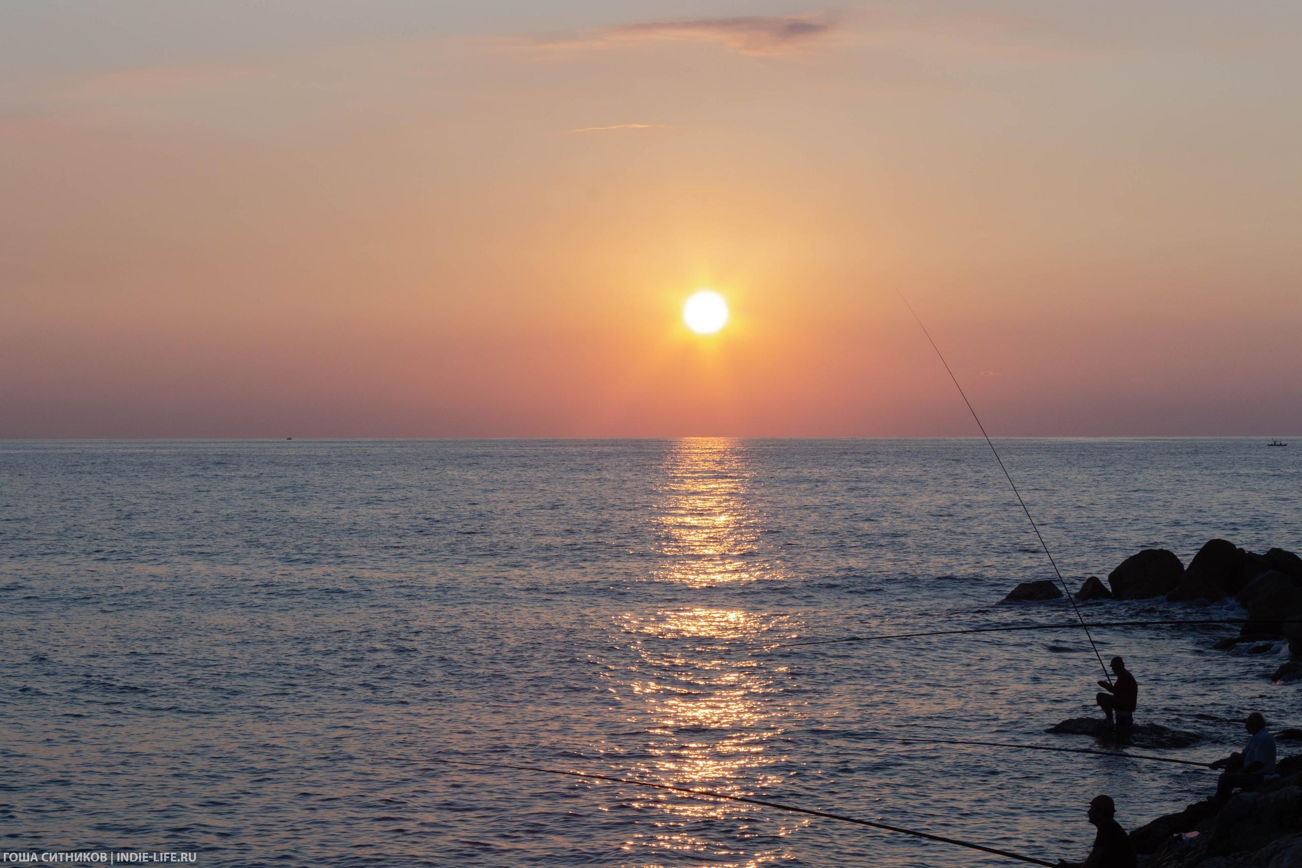Библ. Средиземное море и рыбаки