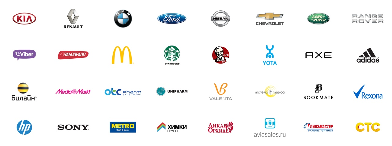 Все логотипы мира с названиями фото