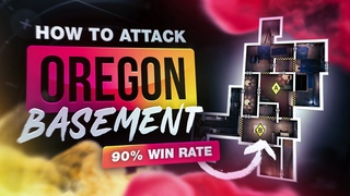 How To ATTACK Basement On Oregon - Rainbow Six Siege