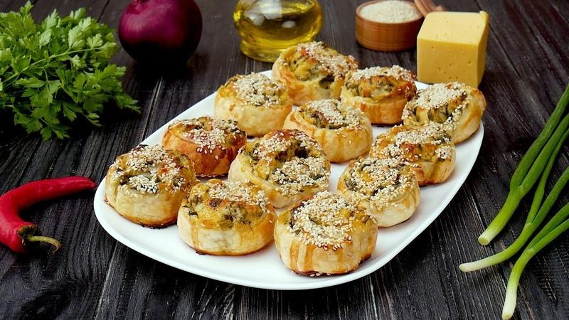 Как приготовить рулеты с сыром и шпинатом Рецепты от Со Вкусом