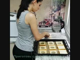 Завтра не нужно будет ломать голову над тем, что приготовить - идея вкуснейшего завтрака