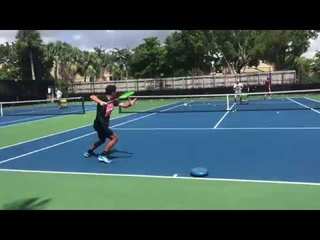 Train as a professional tennis player with Coach Dabul former world #1 juniors and #80 ATP