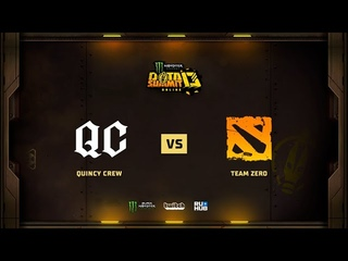 Quincy Crew vs Team Zero, Monster Energy DOTA Summit 13: NA, bo3 game 3 [Mila & Bobruha]