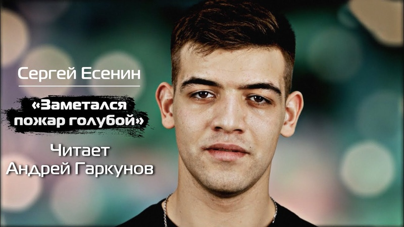 СЕРГЕЙ ЕСЕНИН ЗАМЕТАЛСЯ ПОЖАР ГОЛУБОЙ Читает Андрей Гаркунов