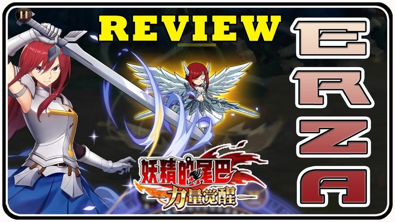 Review Erza Scarlet trong Fairy Tail Power Awakens - MoonSu