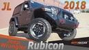 Новый 2018 Jeep Wrangler JL Rubicon видео Тест драйв Нового Джип Вранглер Рубикон 2018 на Русском