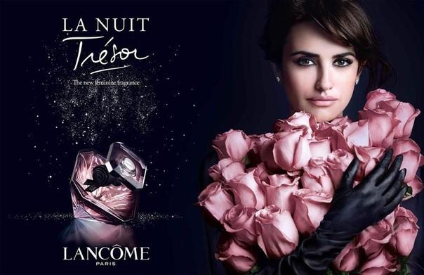 Пенелопа Крус в рекламе аромата Tresor La Nuit
