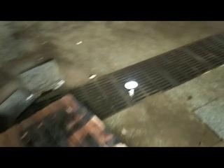 Из нового подземного перехода на Удельной некому откачать воду