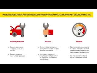 Использование cинтетического моторного масла помогает экономить на.mp4