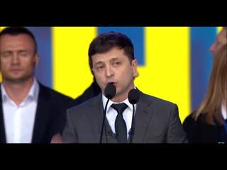 Дебаты - Президентская речь Владимира Зеленского выборы 2019  Украина Россия Порошенко Путин новости политика