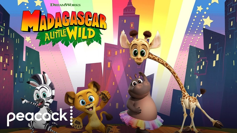 DreamWorks Madagascar A Little Wild Official Trailer Peacock