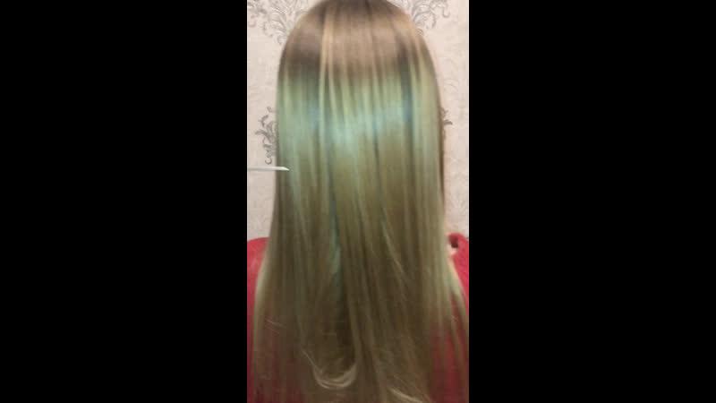 Питательный ботокс на блонд