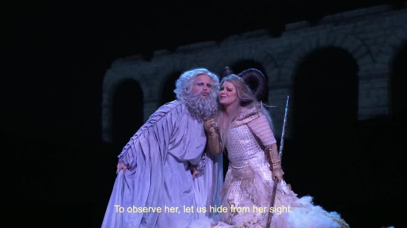 Mondonville Titon et l'Aurore Мондонвиль Титон и Аврора Opéra Comique 20 01 2021